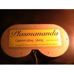 Yin Yang Plasmananda Sensor for Car
